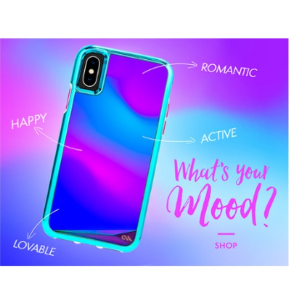 the best attitude 0dc08 11e55 Case•Mate Color Changing Mood iPhone Case NEW! NWT